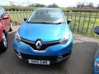 2015 RENAULT CAPTUR 1.5 EXPRESSION PLUS ENERGY DCI S/S 5d 90 BHP £5995.00