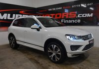 2017 VOLKSWAGEN TOUAREG 3.0 V6 R-LINE TDI BLUEMOTION TECHNOLOGY 259 BHP *PAN ROOF* £24995.00