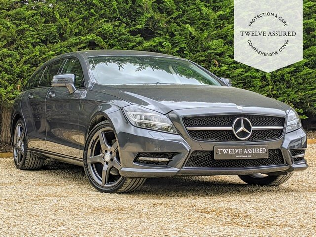 USED 2013 13 MERCEDES-BENZ CLS-CLASS 2.1 CLS250 CDI BLUEEFFICIENCY AMG SPORT 5d AUTO 202 BHP