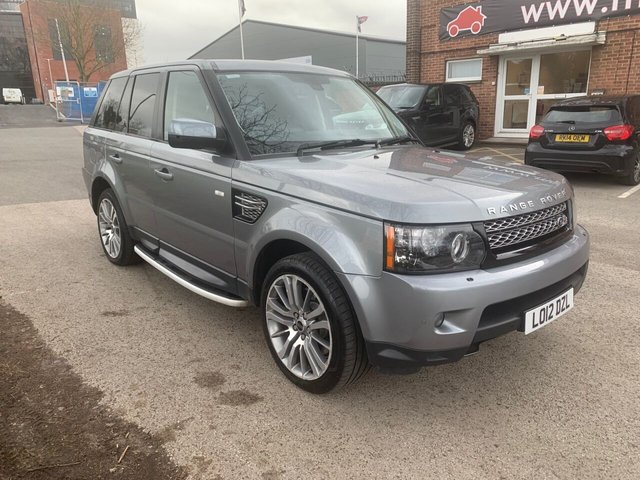 USED 2012 12 LAND ROVER RANGE ROVER SPORT 3.0 SDV6 HSE 5d 255 BHP EXCELLENT EXAMPLE FOR AGE AND MILEAGE, COMES WITH SERVICE HISTORY, ALLOY WHEELS, PARK SENSORS, HEATED SEATS, CRUISE CONTROL, CLIMATE CONTROL, SATELLITE NAVIGATION