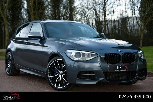 USED 2013 13 BMW 1 SERIES 3.0 M135i Sports Hatch Sport Auto 5dr NAV+M SPORT SUSPENSION+DCP