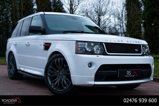 USED 2012 62 LAND ROVER RANGE ROVER SPORT 3.0 SD V6 HSE Red Edition 4X4 5dr NAV+HEATED LEATHER+AA CHECK+TV