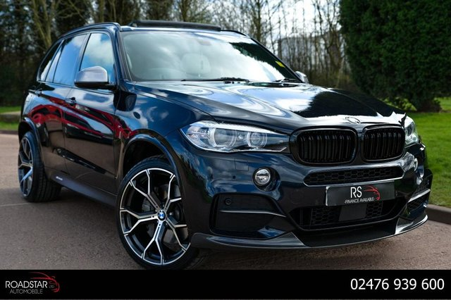 USED 2017 67 BMW X5 3.0 M50d Auto xDrive (s/s) 5dr SOLD