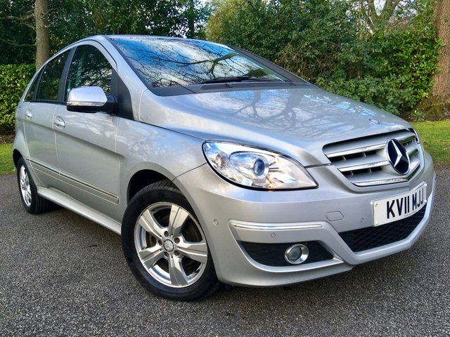2011 11 MERCEDES-BENZ B-CLASS 1.5 B160 SE 5d AUTO 95 BHP ONLY 39,894 MILES /FULL MERC SERVICE HISTORY X9 SERVICES