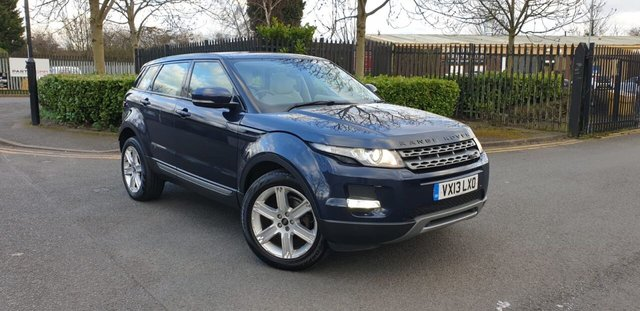 2013 13 LAND ROVER RANGE ROVER EVOQUE 2.2 ED4 PURE TECH 5d 150 BHP