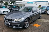 USED 2015 15 BMW 4 SERIES 3.0 435D XDRIVE M SPORT GRAN COUPE 4d 309 BHP BMW Eye Rear Heated Seats Glass Rf