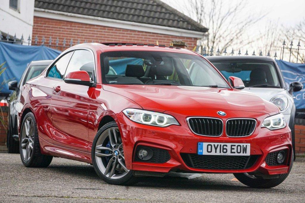 USED 2016 16 BMW 2 SERIES 2.0 220D M SPORT 2d 188 BHP Huge Spec FBMWSH