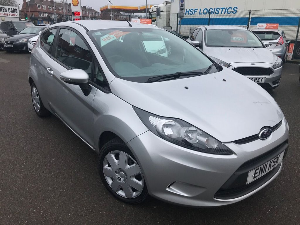 USED 2011 11 FORD FIESTA 1.2L EDGE 3d 59 BHP RAC APPROVED ONLY 40000 MILES!
