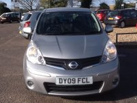 USED 2009 09 NISSAN NOTE 1.4 ACENTA 5d 88 BHP * 86000 MILES, SERVICE HISTORY * 86000 MILES, SERVICE HISTORY