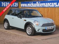 2012 MINI HATCH COOPER 1.6 COOPER 3d 122 BHP £5495.00