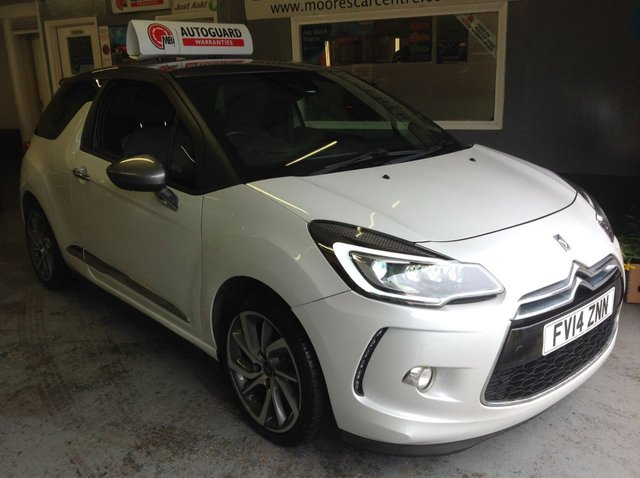 2014 14 CITROEN DS3 1.6 DSTYLE TECHNO 3d 156 BHP