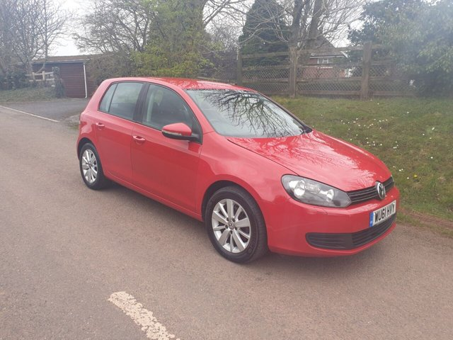 USED 2011 61 VOLKSWAGEN GOLF 2.0 MATCH TDI BLUEMOTION TECHNOLOGY 5d 138 BHP ** MOT ** £30 ROAD FUND ** FULL DEALER HISTORY ** 1 OWNER FROM NEW **