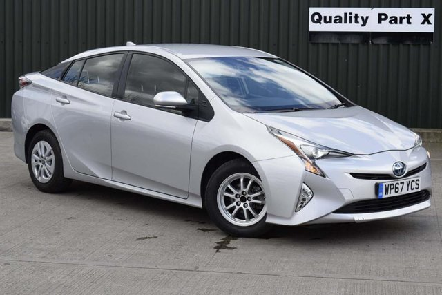 USED 2017 67 TOYOTA PRIUS 1.8 VVT-h Active CVT (s/s) 5dr ULEZ,BLUETOOTH,XENON,CAMERA