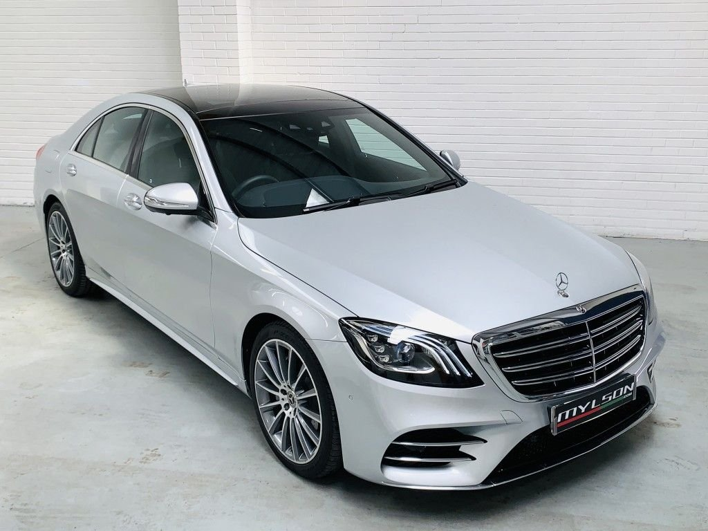 USED 2018 68 MERCEDES-BENZ S-CLASS 2.9 S 350 D AMG LINE PREMIUM 4DR AUTOMATIC Glass Panoramic Roof, Ultra Low Mileage