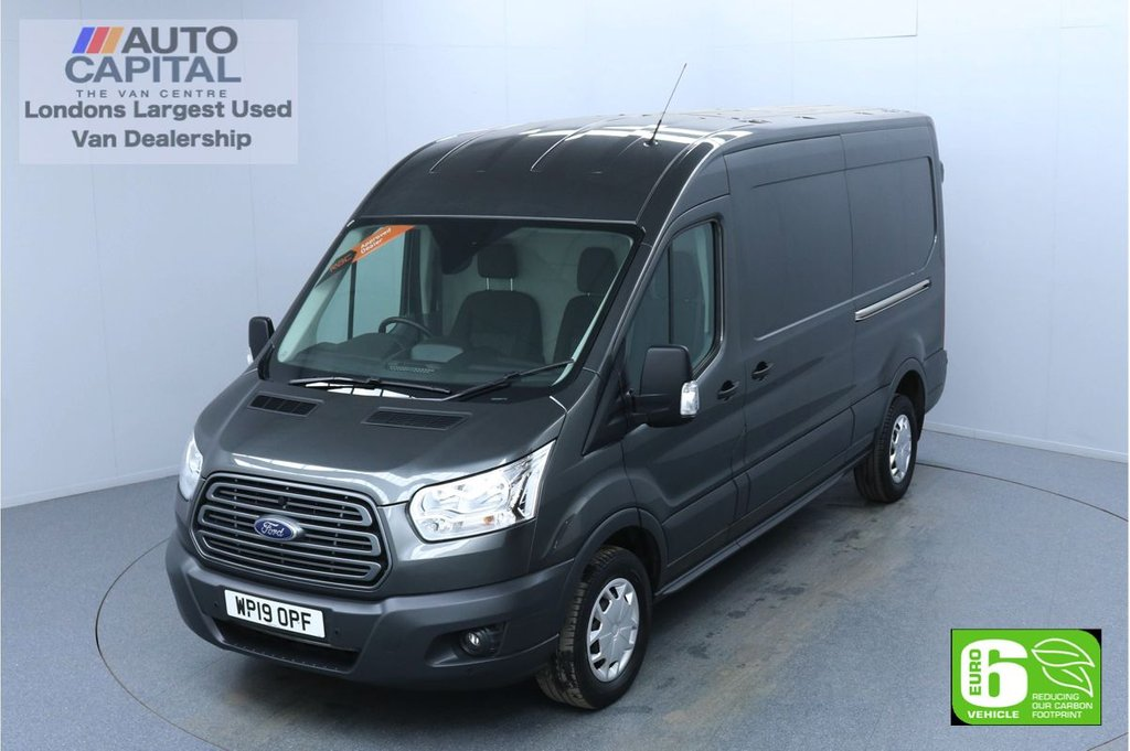 USED 2019 19 FORD TRANSIT 2.0 350 Trend L3 H2 130 BHP Euro 6 Low Emission Finance Packages Available | F-R Sensors | Electronic Stability Control (ESC)