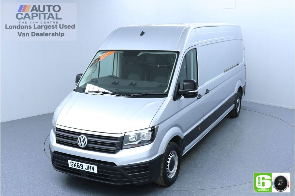 USED 2019 69 VOLKSWAGEN CRAFTER 2.0 CR35 TRENDLINE 140 BHP LWB Euro 6 Low Emission Finance Packages Available | Business Pack | Air Con | Park Pilot | EBA+ESP