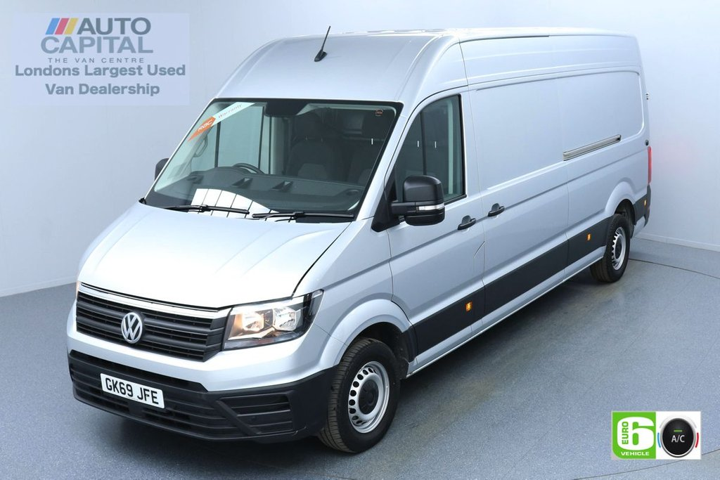 USED 2019 69 VOLKSWAGEN CRAFTER 2.0 CR35 RWD TRENDLINE 138 BHP LWB EURO 6 ENGINE AIR CON | BUSINESS PACK | FRONT-REAR PARKING SENSORS