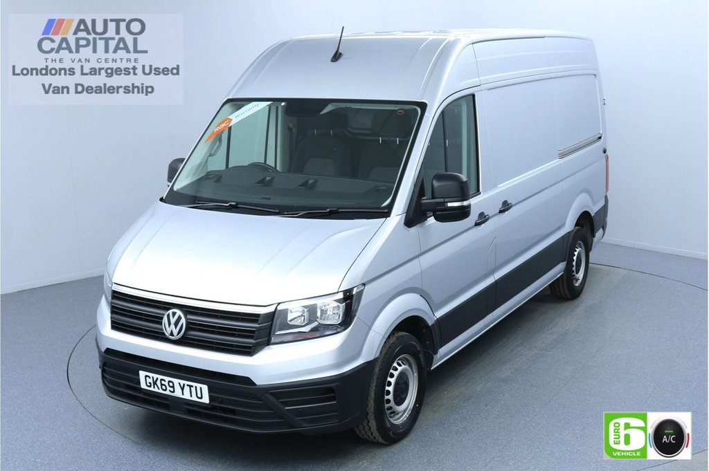 USED 2019 69 VOLKSWAGEN CRAFTER 2.0 CR35 RWD TDI TRENDLINE 138 BHP MWB EURO 6 ENGINE AIR CON | BUSINESS PACK | FRONT-REAR PARKING SENSORS