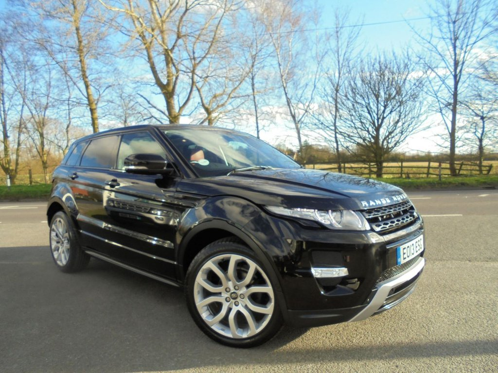 USED 2013 05 LAND ROVER RANGE ROVER EVOQUE 2.2 SD4 DYNAMIC LUX 5d 190 BHP