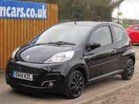 USED 2014 14 PEUGEOT 107 1.0 ACTIVE 3d 68 BHP FSH, FREE TAX AIR CON