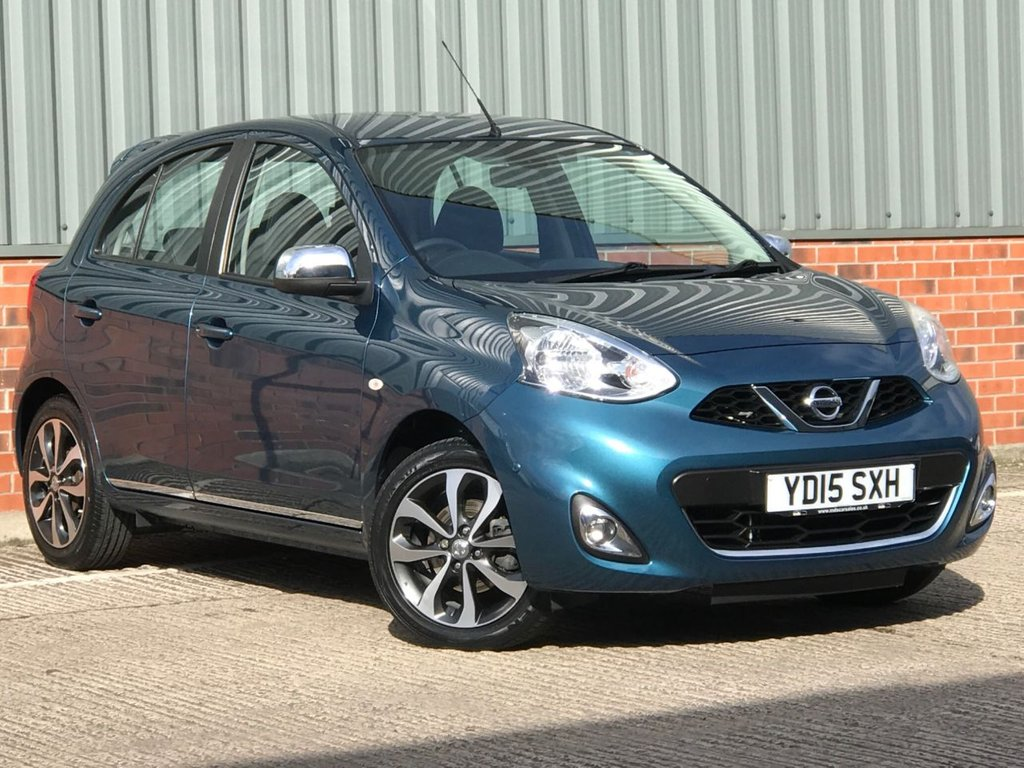 USED 2015 15 NISSAN MICRA 1.2 TEKNA DIG-S 5d 97 BHP EXCELLENT ONE OWNER LOW MILEAGE EXAMPLE