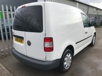 USED 2006 56 VOLKSWAGEN CADDY C20 SDI 70PS WHITE VAN **NO VAT**
