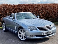 USED 2007 57 CHRYSLER CROSSFIRE 3.2 V6 2d COMPREHENSIVE SERVICE HISTORY * LOW MILEAGE * FULL HEATED LEATHER INTERIOR * CRUISE CONTROL