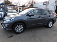 USED 2015 65 HONDA CR-V 1.6 I-DTEC SE 5d 118 BHP NEW MOT, SERVICE & WARRANTY