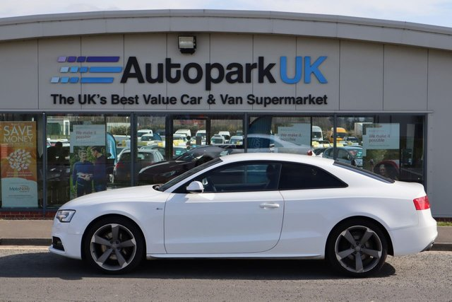 USED 2012 12 AUDI A5 3.0 TDI QUATTRO BLACK EDITION 2d 245 BHP LOW DEPOSIT OR NO DEPOSIT FINANCE AVAILABLE