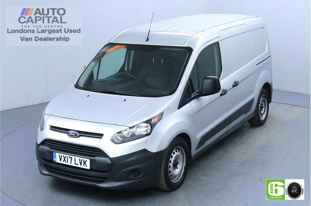 USED 2017 17 FORD TRANSIT CONNECT 1.5 210 74 BHP L2 LWB 3 Seats Euro 6 Low Emission Finance Packages Available | Air Con | Hill Start Assist