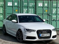 USED 2013 13 AUDI A6 3.0 BiTDi Black Edition Tiptronic quattro 4dr BlackPack/BOSE/Parking+/Cruise
