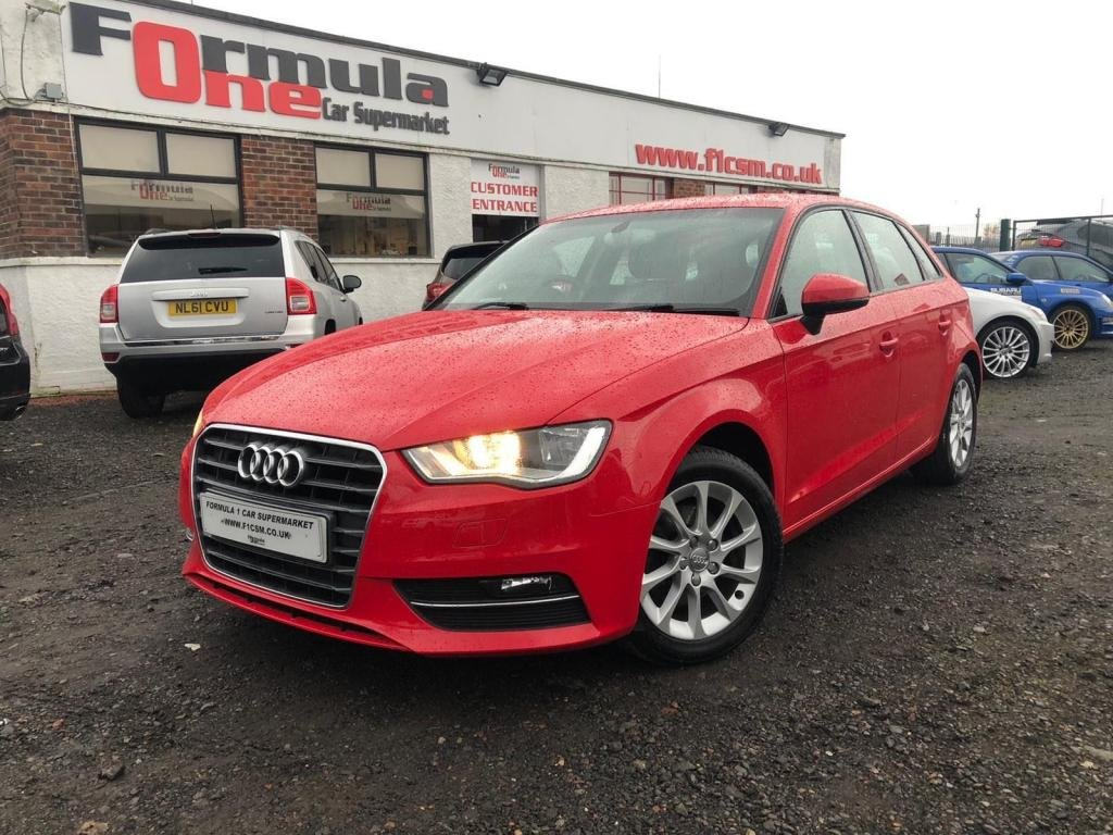 USED 2013 13 AUDI A3 1.4 TFSI SE Sportback 5dr DRIVE AWAY TODAY+FANTASTIC CAR