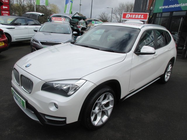 USED 2013 63 BMW X1 2.0 SDRIVE18D XLINE 5d 141 BHP ** ** JUST ARRIVED ** **DIESEL AUTOMATIC