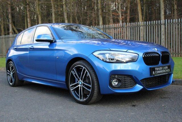 2017 67 BMW 1 SERIES 1.5 116D M SPORT SHADOW EDITION 5d 114 BHP