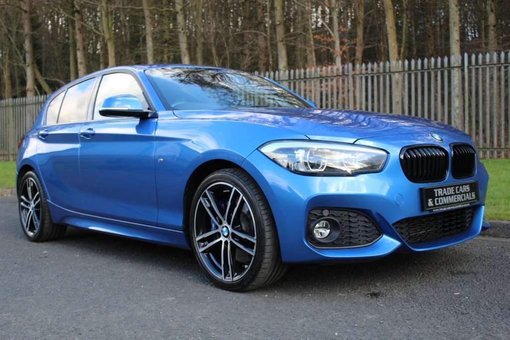 USED 2017 67 BMW 1 SERIES 1.5 116D M SPORT SHADOW EDITION 5d 114 BHP A STUNNING HIGH SPECIFICATION 1 SERIES WITH BMW SERVICE HISTORY!!!