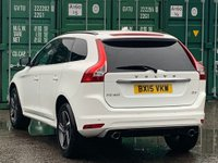 USED 2015 15 VOLVO XC60 2.0 D4 R-Design Geartronic 5dr FSH/HalfLeather/Sensors/ISOFIX