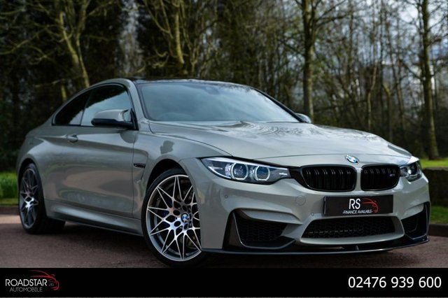 USED 2017 67 BMW M4 3.0 BiTurbo Competition DCT (s/s) 2dr NAV+HEAD UP DISPLAY+APPLE PLAY