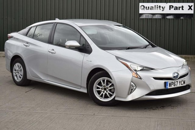 USED 2017 67 TOYOTA PRIUS 1.8 VVT-h Active CVT (s/s) 5dr CALL FOR NO-CONTACT DELIVERY