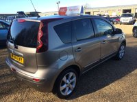 USED 2010 60 NISSAN NOTE 1.6 TEKNA 5d 110 BHP automatic 130 POINT INSPECTION - FINANCE AVAILABLE