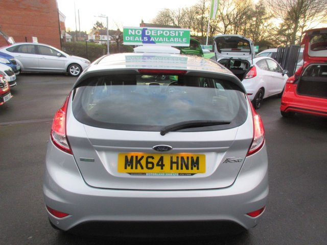 USED 2014 64 FORD FIESTA 1.0 ZETEC 5d 99 BHP ** 01543 379066  ** JUST ARRIVED **