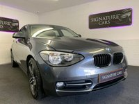 2012 BMW 1 SERIES 1.6 116I SPORT 5d 135 BHP £7800.00
