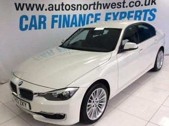 2013 BMW 3 SERIES 2.0 320D LUXURY 4d 184 BHP £9500.00