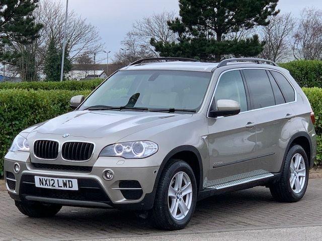 USED 2012 12 BMW X5 3.0 XDRIVE30D SE 5d 241 BHP