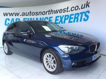 2013 BMW 1 SERIES 2.0 120D SE 5d 181 BHP £8500.00