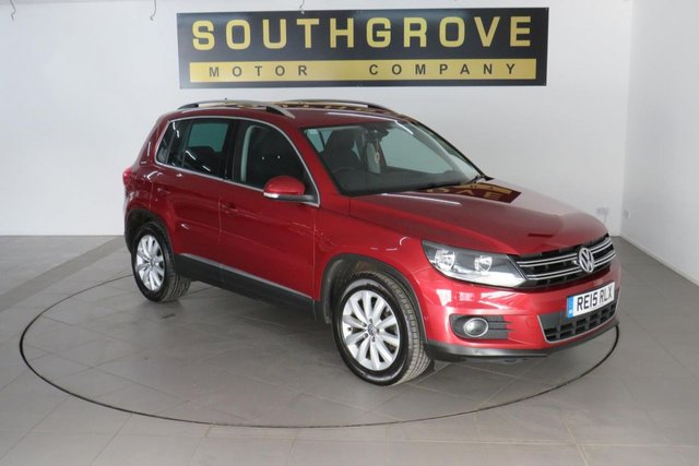 USED 2015 15 VOLKSWAGEN TIGUAN 2.0 MATCH TDI BLUEMOTION TECHNOLOGY 5d 139 BHP