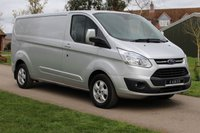 USED 2015 15 FORD TRANSIT CUSTOM 2.2 290 LIMITED LR P/V 124 BHP Limited - Long wheel base - Full Ford History - Ready To go -