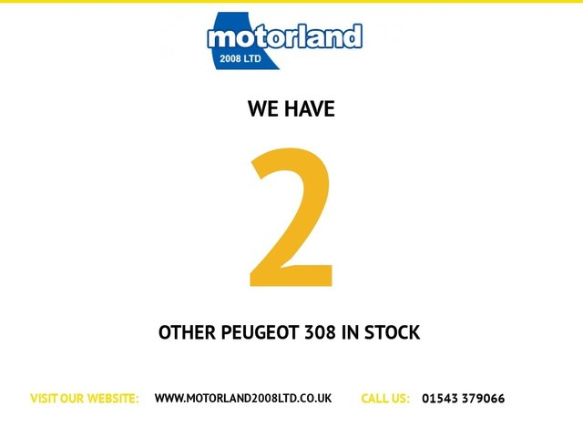 USED 2014 14 PEUGEOT 308 1.6 E-HDI ALLURE 5d 114 BHP ** FULL SERVICE HISTORY ** DIESEL *