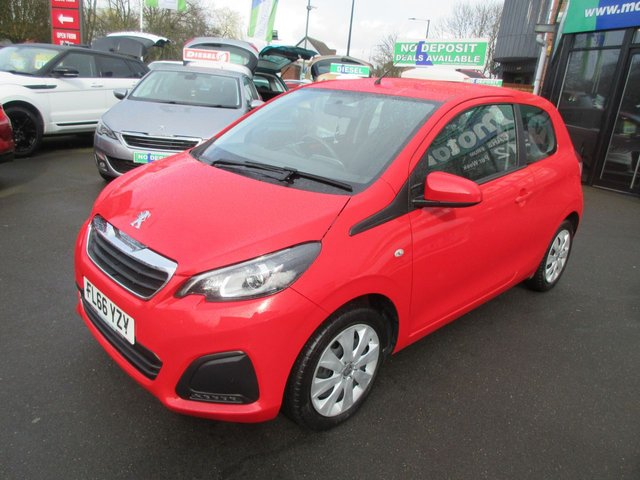 USED 2016 66 PEUGEOT 108 1.0 ACTIVE 3d 68 BHP **1 OWNER AND FULL SERVICE HISTORY*