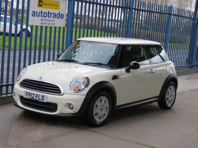 USED 2012 12 MINI HATCH FIRST 1.6 FIRST 3dr ULEZ Compliant Electric windows Central locking PAS ULEZ Compliant Part exchange available Open 7 days