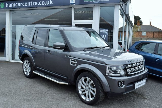 2016 65 LAND ROVER DISCOVERY 4 3.0 SDV6 HSE 5d 255 BHP LOW -MILES FLRSH